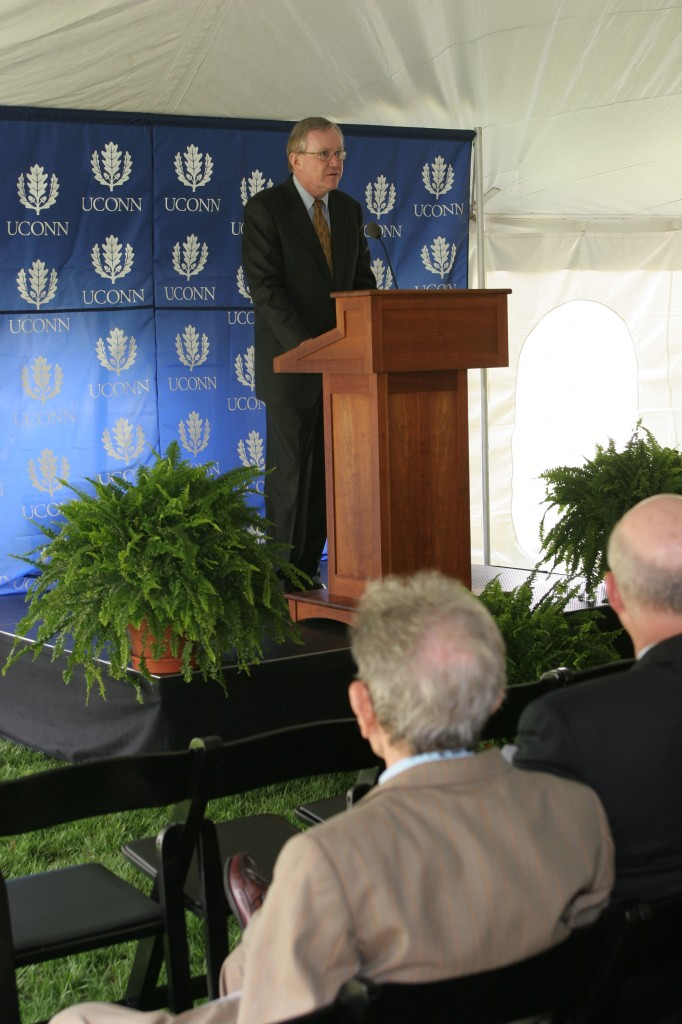 Dedication Ceremony: University of Connecticut President, Philip Austin