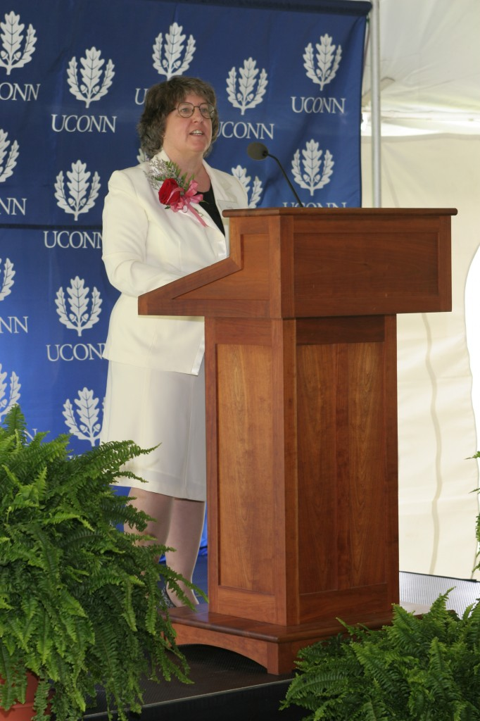 Dedication Ceremony: CAGT Director Dr. Linda Strausbaugh