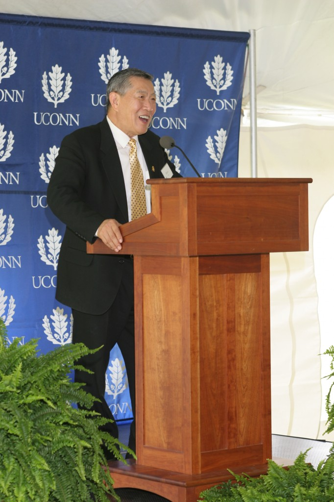 Dedication Ceremony: Guest Speaker Dr. Henry C. Lee